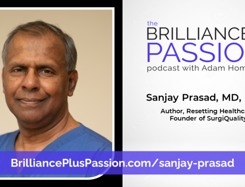 Sanjay Prasad, MD, FACS – Author, Resetting Healthcare, Founder of SurgiQuality